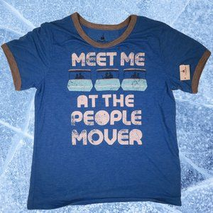 """NWT Disney """"Meet Me at The People Mover"""" Shirt"""